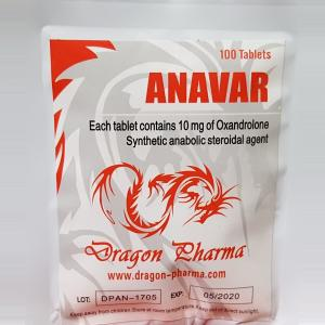 Anavar 10 - Oxandrolone - Dragon Pharma, Europe