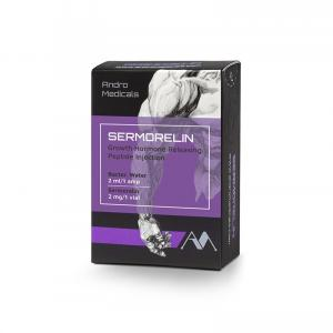 Sermorelin - Growth Hormone Releasing Peptide Injection - Andro Medicals - Europe